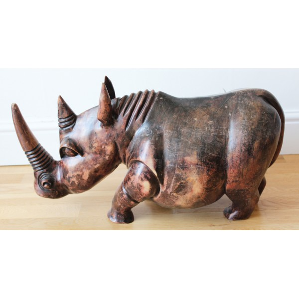 African Animal Wood Carvings